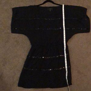 Jessica Simpson Black sequin dress